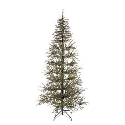 6 ft. Unlit Slim Warsaw Twig Artificial Christmas Tree