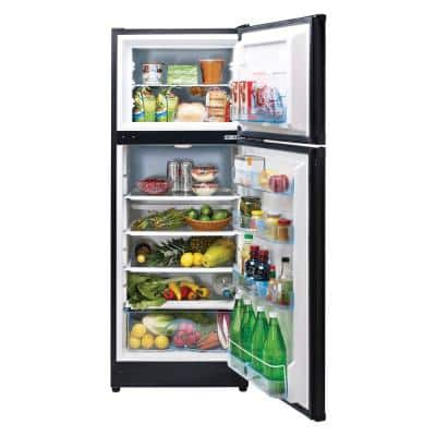 10.3 cu. ft. 290 l Solar DC Top Freezer Refrigerator Danfoss/Secop Compressor in Black