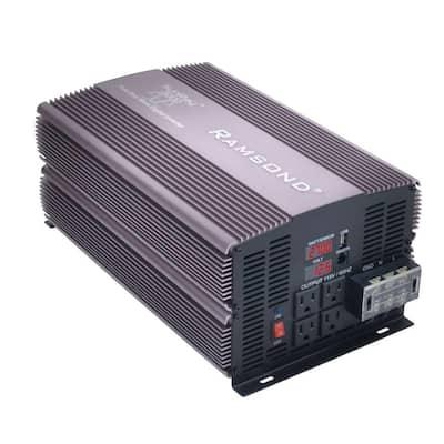 Sunray 3000 Pure Sine Wave Intelligent DC to AC Inverter (12-Volt)