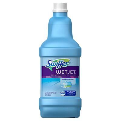 WetJet 42 oz. Open Window Fresh Scent Multi-Purpose Floor Cleaner Refill (4-Pack)