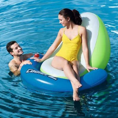 Sit-In-Sun Floating Lounger for Swimming Pools