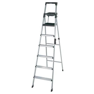 Signature Series 8 ft. Premium Aluminum Step Ladder