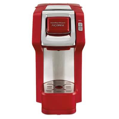 FlexBrew Red Single Serve Coffee Maker