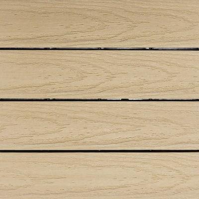 UltraShield Naturale 1 ft. x 1 ft. Quick Deck Outdoor Composite Deck Tile in Japanese Cedar (10 sq. ft. Per Box)
