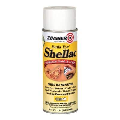 12 oz. Clear Shellac Spray (6-Pack)