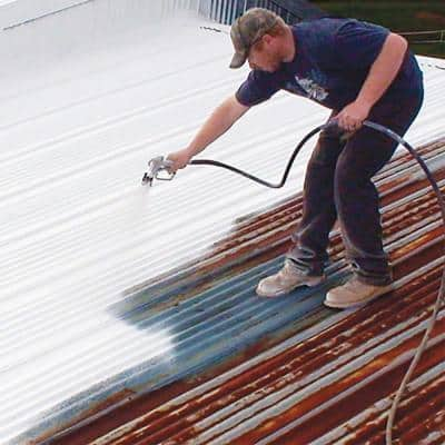 5 Gal. White Iron Coat Superior Metal Reflective Roof Coating