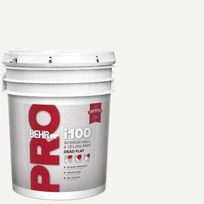 5 gal. i100 White Base Dead Flat Interior Paint