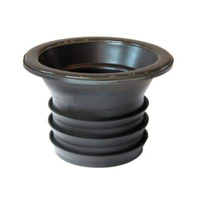 Wax Free Toilet Seal for 3.5 in. Drain Pipe