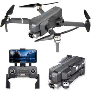 F35 GPS Drone with 4K UHD Camera 2-Axis Self Stabilizing Gimbal 5G Wi-Fi FPV RC Quadcopter Brushless Drone