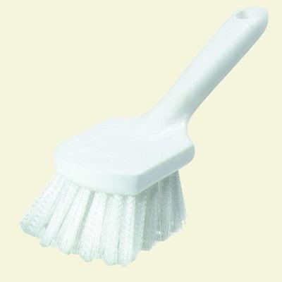 8 in. Bent Handle Stiff Utility Scrub Brush (Case of 12)