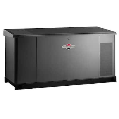 25,000-Watt Automatic Liquid Cooled Standby Generator - Single Phase