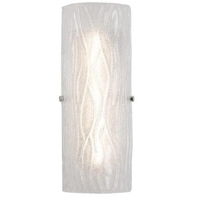 Brilliance 75-Watt Chrome Integrated LED Bath Light