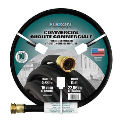 5/8 in. Dia x 75 ft. Premium Commercial-Grade Rubber Hose