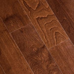 Antique Birch 3/8 in. Thick x 5 in. Wide x Varying Length Click Lock Hardwood Flooring (19.686 sq. ft. / case)