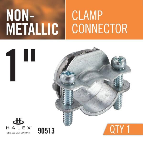 H6503 Columbus McKinnon CLAMP 9//16D X 1//2W Nylon Cable