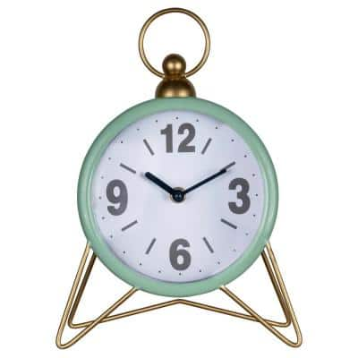 Green Spencer Table Top Clock