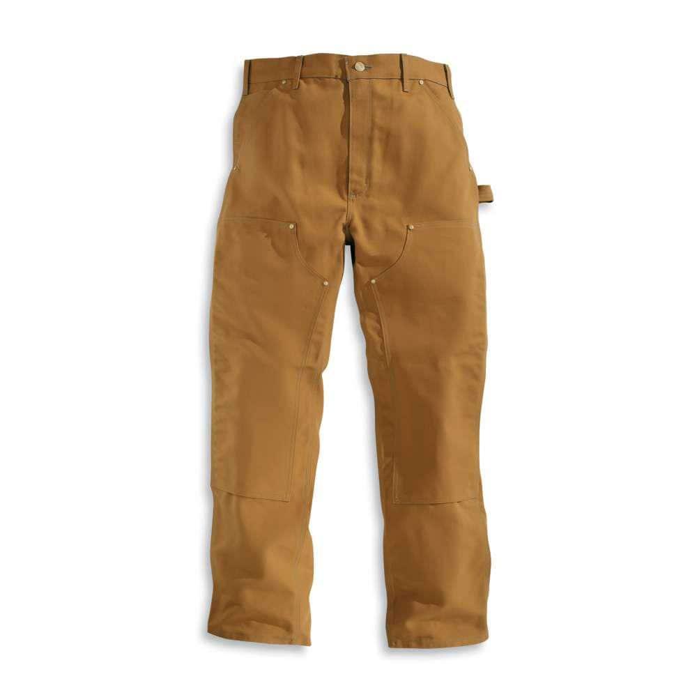 New Mens Carhartt Brown Duck Pant B01BRN SIZE 46x32