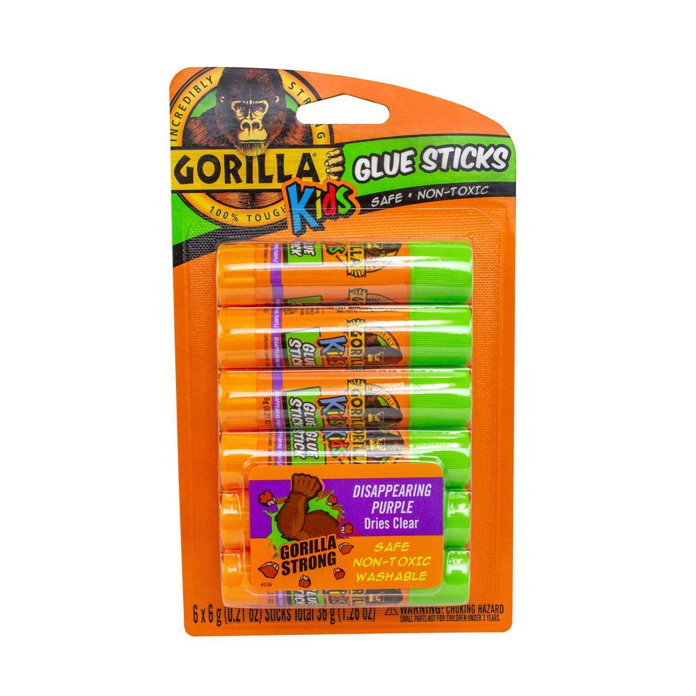 6-6g School Glue Sticks (6-Pack)