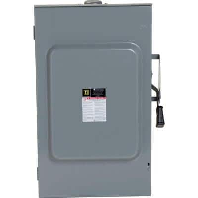 200 Amp 240-Volt 3-Pole 3-Phase Non-Fusible Outdoor General Duty Safety Switch