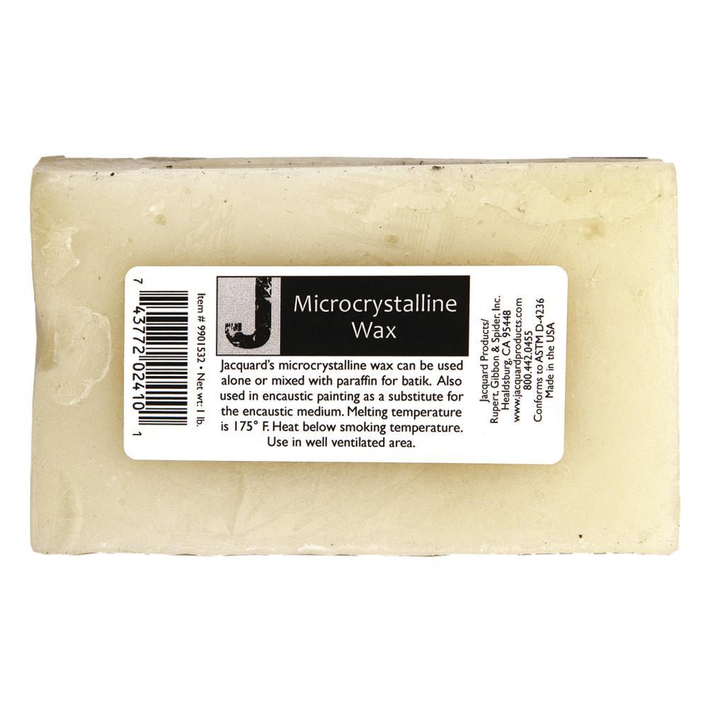 Microcrystalline Wax, 1 lbs. Block