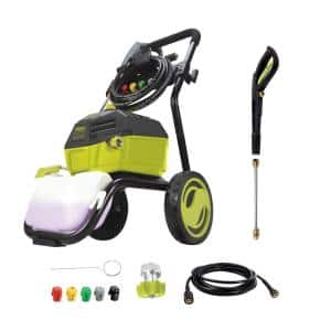 3000 PSI Max 1.3 GPM 14.5 Amp High Performance Brushless Induction Motor Electric Pressure Washer
