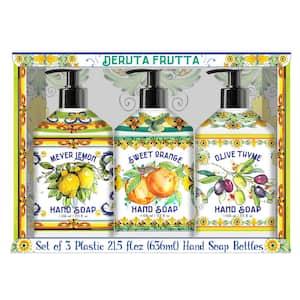 3 x 21.5 oz. Deruta Frutta Hand Soap Set