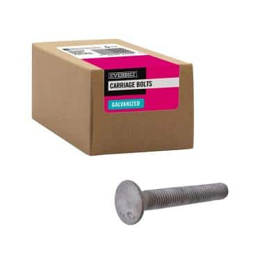 1/2 in.-13 x 3-1/2 in. Galvanized Carriage Bolt (25-Pack)