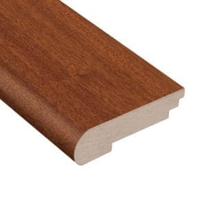 Cimarron Mahogany 3/8 in. Thick x 3-1/2 in. Wide x 78 in. Length Stair Nose Molding