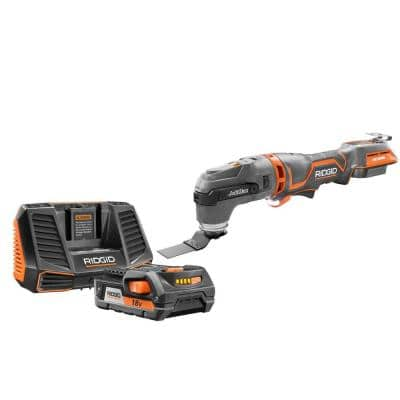 18-Volt OCTANE Job Max Multi-Tool with 18-Volt Lithium-Ion 2.0 Ah Battery and Charger Kit