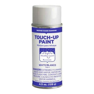 4.5 oz. White Touch-Up Paint for Aluminum Gutters