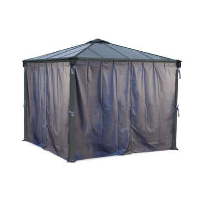 Curtian Set for 10 ft. - 12 ft. Palram - Canopia Gazebos