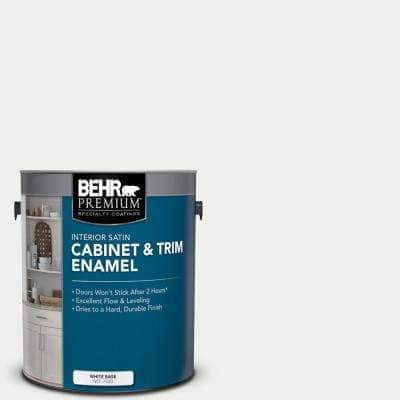 1 gal. #57 Frost Satin Enamel Interior Cabinet and Trim Paint
