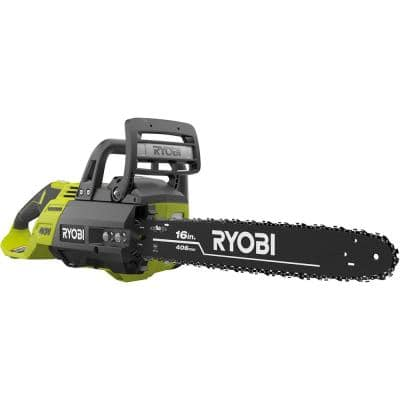 40V Brushless 16 in. Cordless Battery Chainsaw (Tool Only)