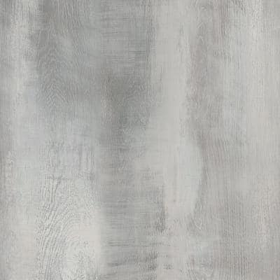 5 in. W x Multi-Length Seacoast Grey Peel and Stick Vinyl Wall Plank (20 sq. ft./case)