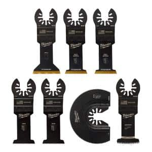Oscillating Multi-Tool Blade Kit (7-Piece)