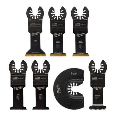 Oscillating Multi-Tool Blade Kit (7-Piece)