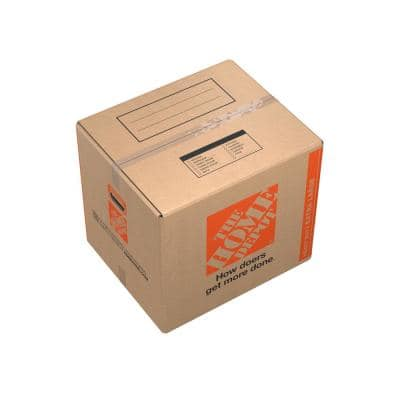 24 in. L x 20 in. W x 21 in. D Heavy-Duty Extra-Large Moving Box with Handles (10-Pack)