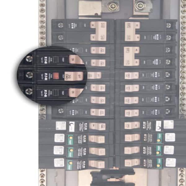 EATON EMCH 110R30C RCBO Voyage de type A 30 mA 10 A type C