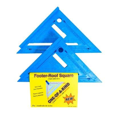 2-in-1 Footer-Roof Rafter Square (Pack of 2)