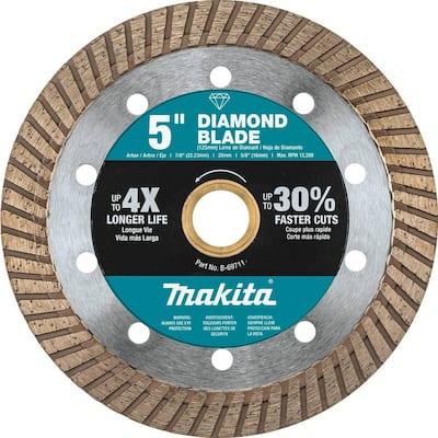 5 in. Turbo Rim Diamond Blade for General Purpose