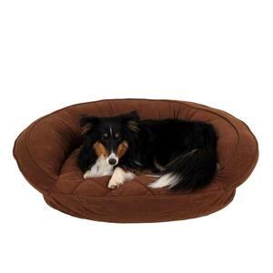 Carolina Pet Company Medium Black Brutus Tough Chew Resistant Pet Bed 05325 The Home Depot