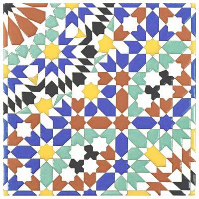 Sevillano Andalusia 8 in. x 8 in. Ceramic Wall Tile (11.3 sq. ft. / Case)