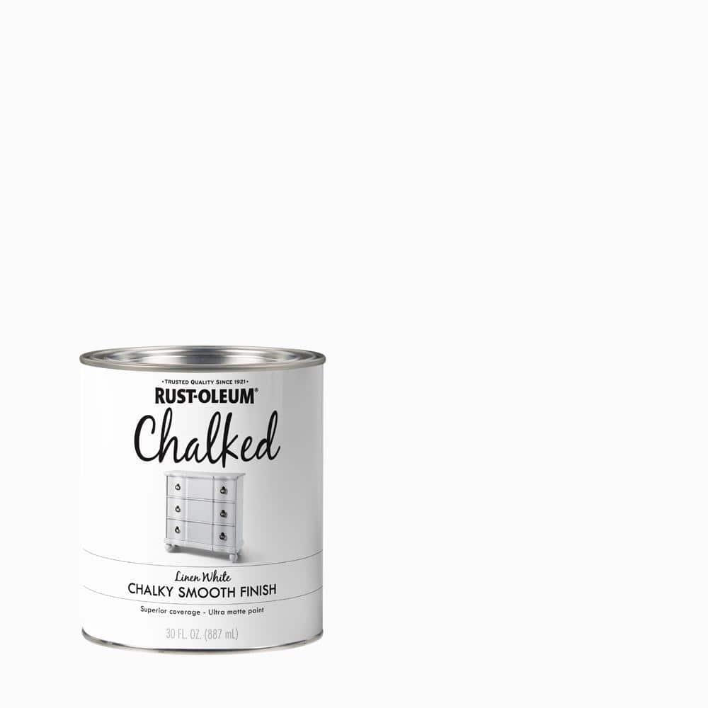 Rust-Oleum 30 oz. Linen White Ultra Matte Interior Chalked Paint