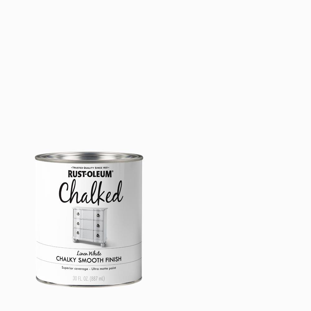 30 oz. Linen White Ultra Matte Interior Chalked Paint