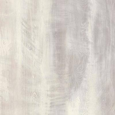 5 in. W x Multi-Length Seacoast White Peel and Stick Vinyl Wall Plank (20 sq. ft./case)