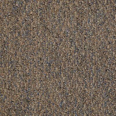8 in. x 8 in. Berber Carpet Sample - Isla Vista - Color Bird's Nest