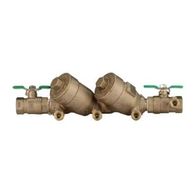 3/4 in. Lead-Free Double Check Valve Assembly with Top Access Covers