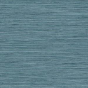 Grasslands Nautical Ocean Blue Vinyl Strippable Roll (Covers 60.75 sq. ft.)