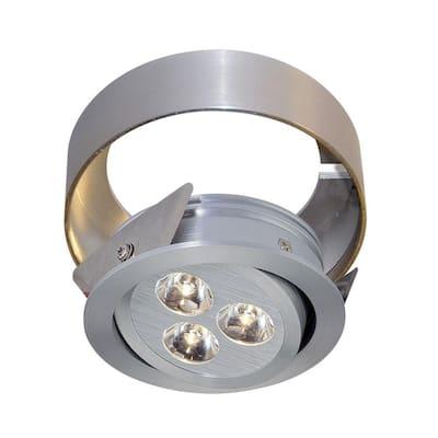 Tiro 3 Under Cabinet Brushed Aluminum Mount Collar
