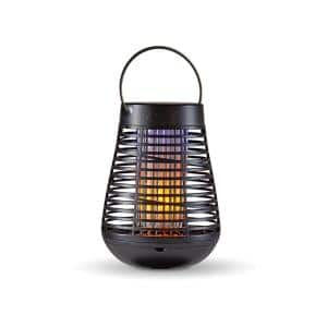 Portable Solar Insect Killer Torch with LED Flame Effect